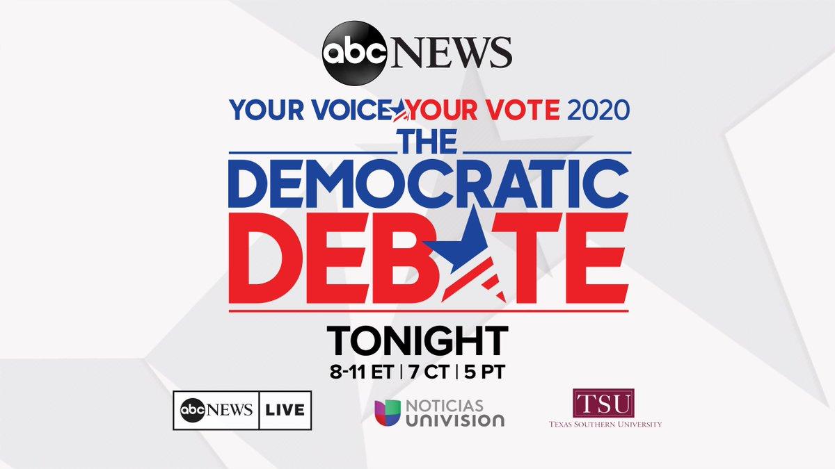 Here's how the third 2020 Democratic presidential debate works—and how to watch: https://abcn.ws/2UMcxcg #DemDebate