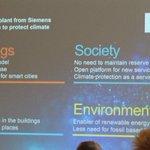 Image for the Tweet beginning: Veikka Pirhonen from @SiemensSuomi presented