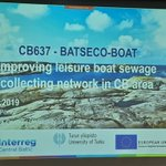 """There is always a next marina"", and that's why cooperation and word of mouth is crucial. An #EstLat project is developing a huge harbour network along the East Baltic coast. Today we learn a lot about small ports development in several #interreg projects thanks to #EU funding."