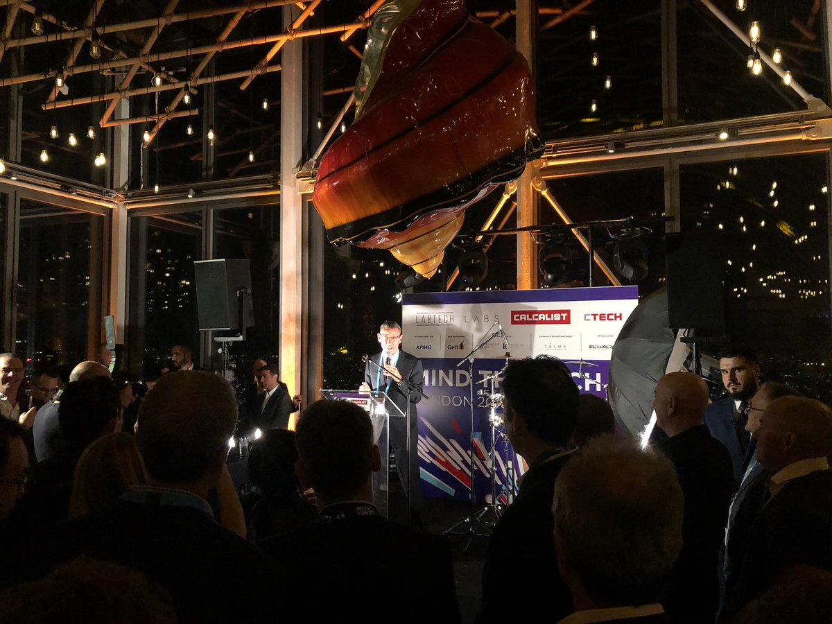 Great to be at last night's launch of @Calcalist's #MindTheTech London Conference with so many Israeli entrepreneurs, investors & innovators and #Eurovision2019 host @AssiAzar.  Almost 400 Israeli companies have opened offices in the UK, with doubtless many more to come.pic.twitter.com/xRhU8x6oEn