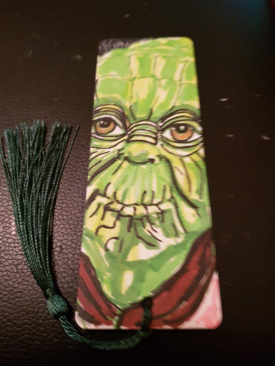 Yoda bookmark ❤❤❤