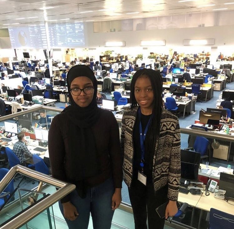 Last day of two superstar interns on our first ever @WomensSport #whatif paid work experience scheme. Ayan and Amarachi you've seriously impressed working alongside our team, and we look forward to championing your development as sports journalists. Smashing it!Thank you!🌟🌟🙌