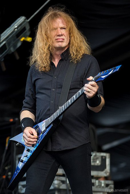 Happy Birthday  Dave Mustaine 9 13   Megadeth