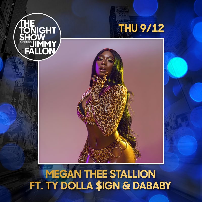 Hotties I'll be on The tonight show with @jimmyfallon tonight so tune in !
