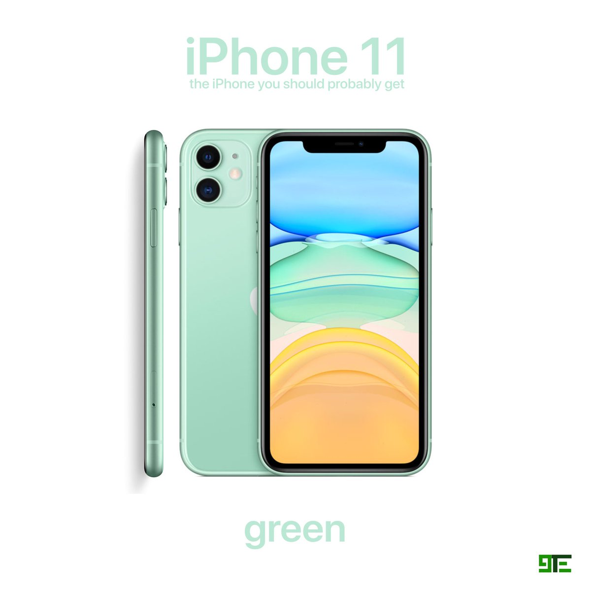 9techeleven On Twitter Purple Or Green Iphone 11 Has