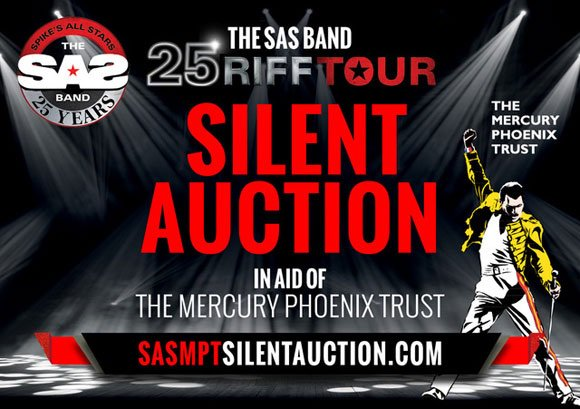 JUST LAUNCHED - ONLINE AUCTION IN AID OF @The_MPT #MERCURYPHOENIXTRUST Signed @QUEEN memorabilia and more! For further info go to facebook.com/SpikeEdneySASB…@ TO PLACE YOUR BID GO TO: sasmptsilentauction.com and good luck!