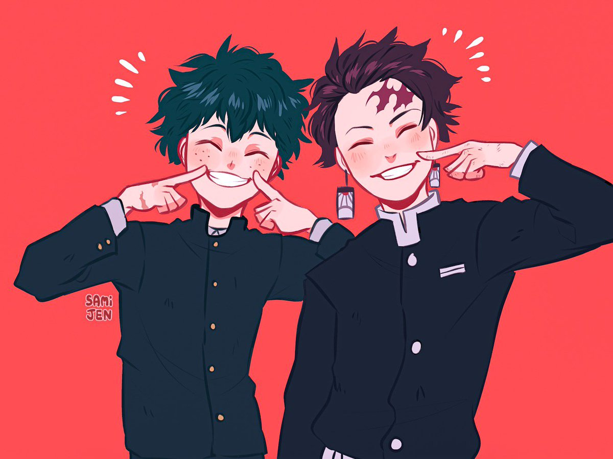 they're good bois brent  #bnha #kny<br>http://pic.twitter.com/LwJHV1WfKM