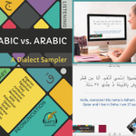 Image for the Tweet beginning: Arabic vs. Arabic: ANKI Flashcards: