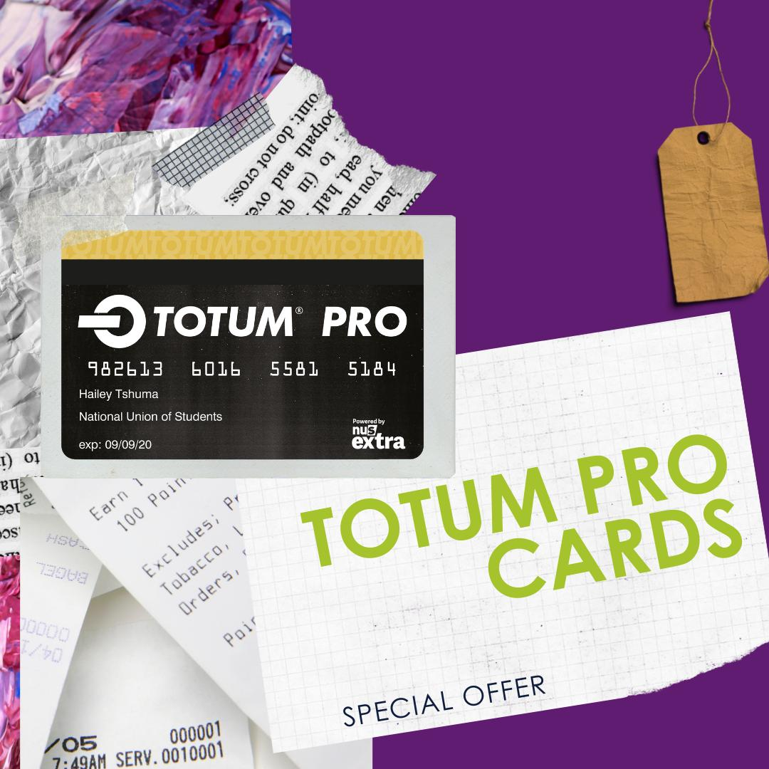Christmas has come early! You can now save more coins with the @WeAreTotum #Totum Pro Card. Find out how you can sign up here: ow.ly/7Ceu50w6yOY Sign up before December for an extra special treat - Get your #Totumcard today for only £14.99. Bargain! #Studentdiscounts
