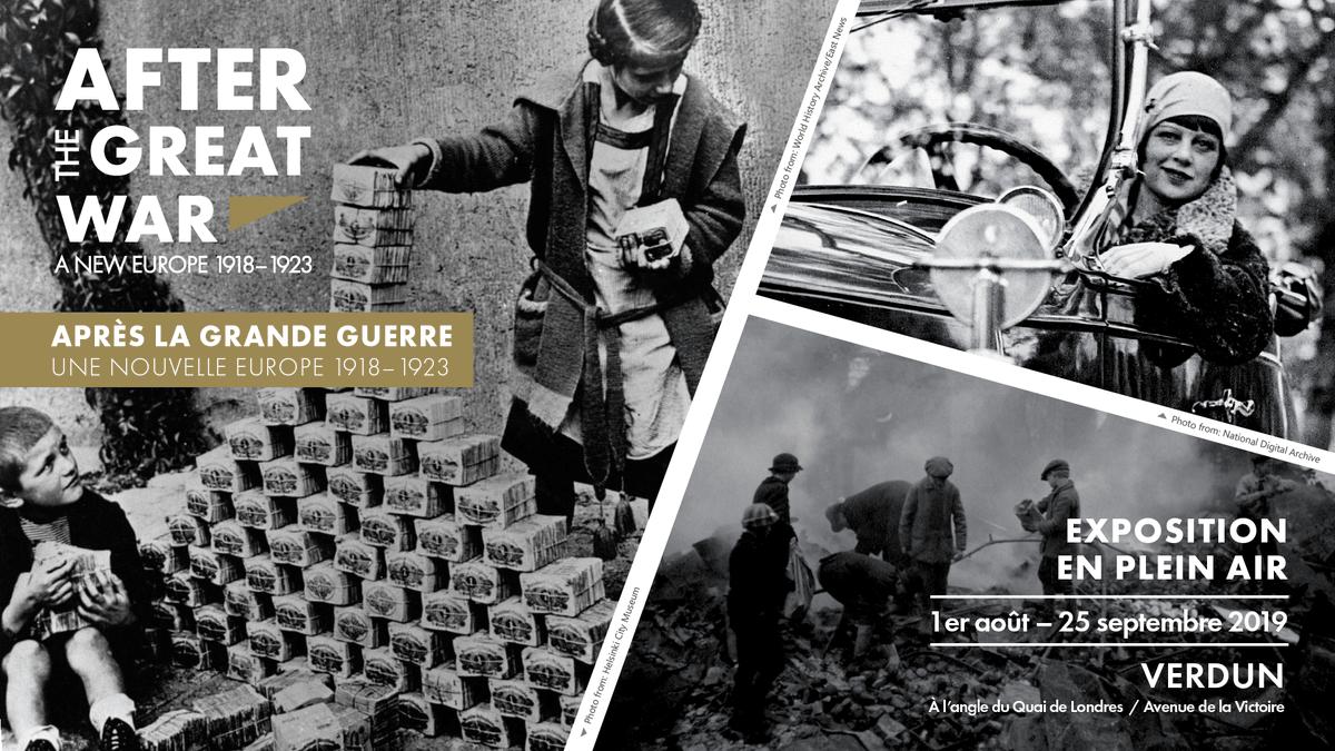 Only 10 more days to see the #AfterTheGreatWar exhibition in #Verdun! @MemorialVerdun