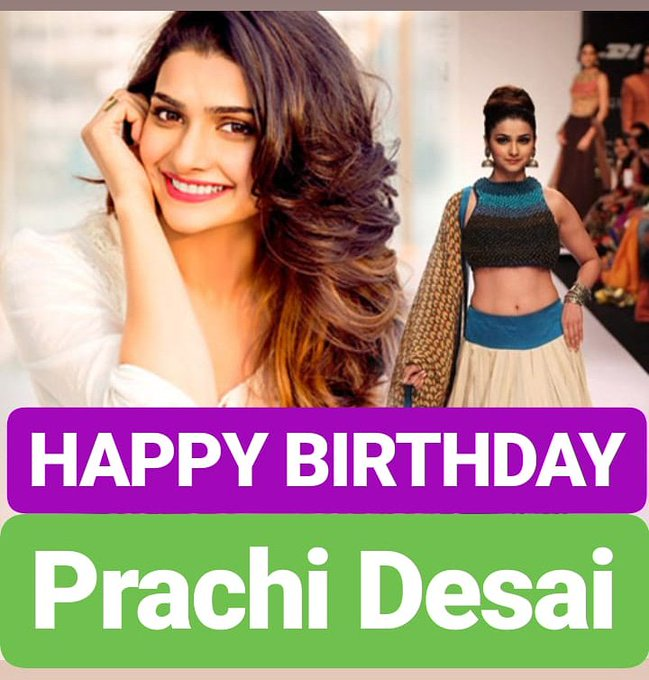 HAPPY BIRTHDAY  Prachi Desai