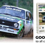 Image for the Tweet beginning: The Armstrong GALLOWAY HILLS RALLY