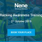 Image for the Tweet beginning: Our Racking Awareness Training course