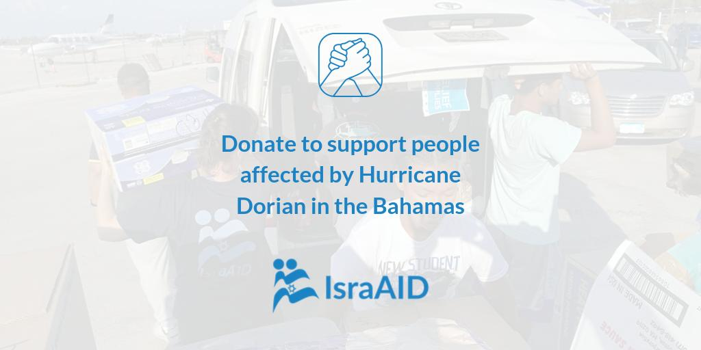 #HurricaneDorian is the worst storm to hit the Bahamas in the countrys history. Our Emergency Response team has been on the ground for a week, coordinating relief distributions, safe water solutions & child protection. Donate now: bit.ly/IsraAIDEmergen… #BahamasRelief