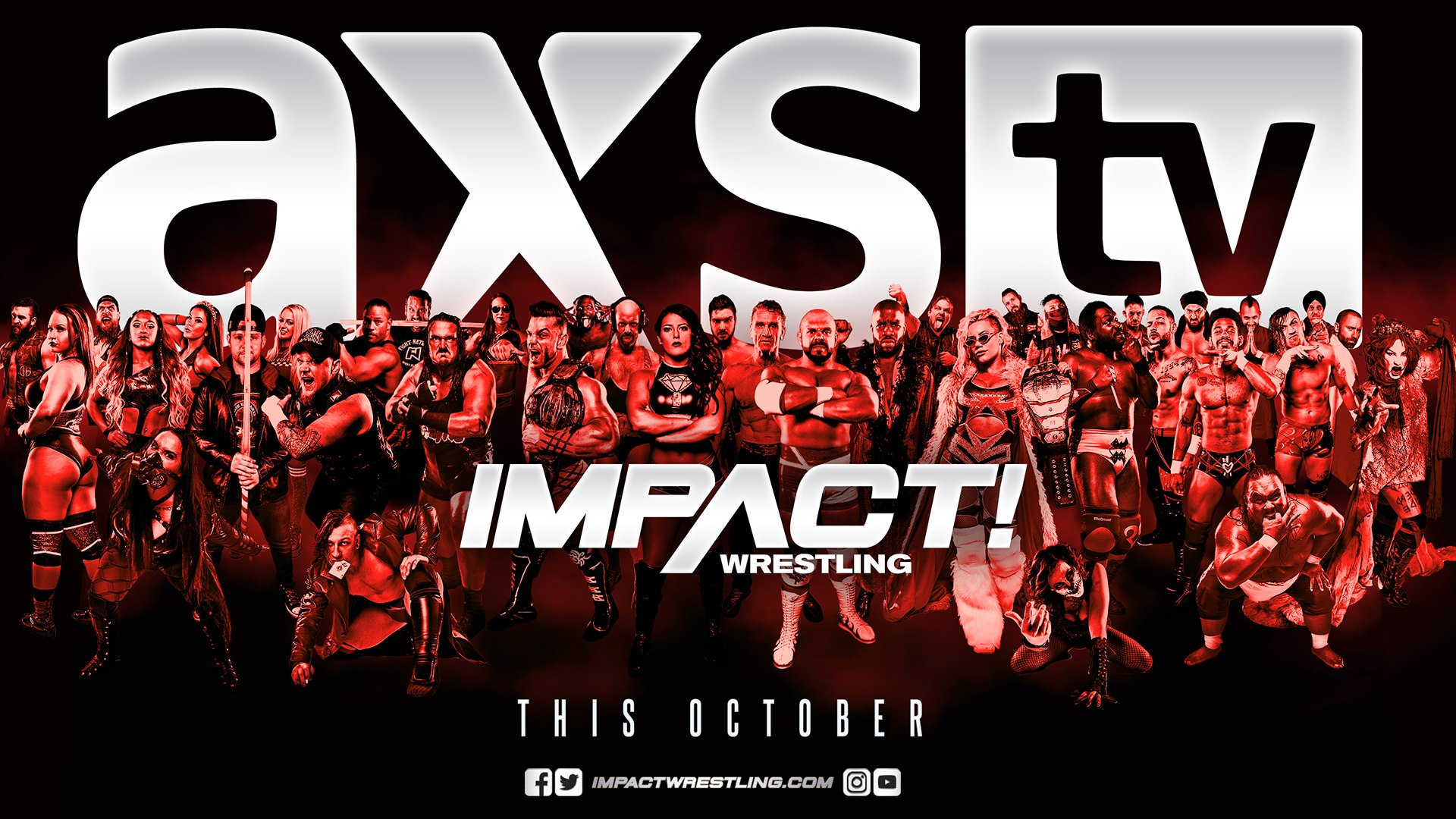 Impact Wrestling: #IMPACT Wrestling Announces Move to @AXSTV  https://t.co/8sU3fuNdgr.  Tweet by @IMPACTW...