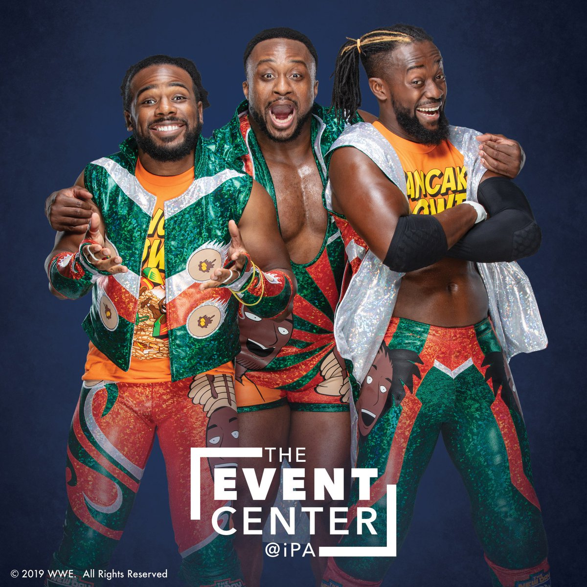 .@TrueKofi, @WWEBigE, and @XavierWoodsPhD of @WWE's The New Day will be here on September 29th for a photo op & autograph signing experience. Plus, they'll be making a SPECIAL appearance in the VIP pancake breakfast @GameTimeBarNJ! 🥞 Tickets: http://bit.ly/30tZyxA