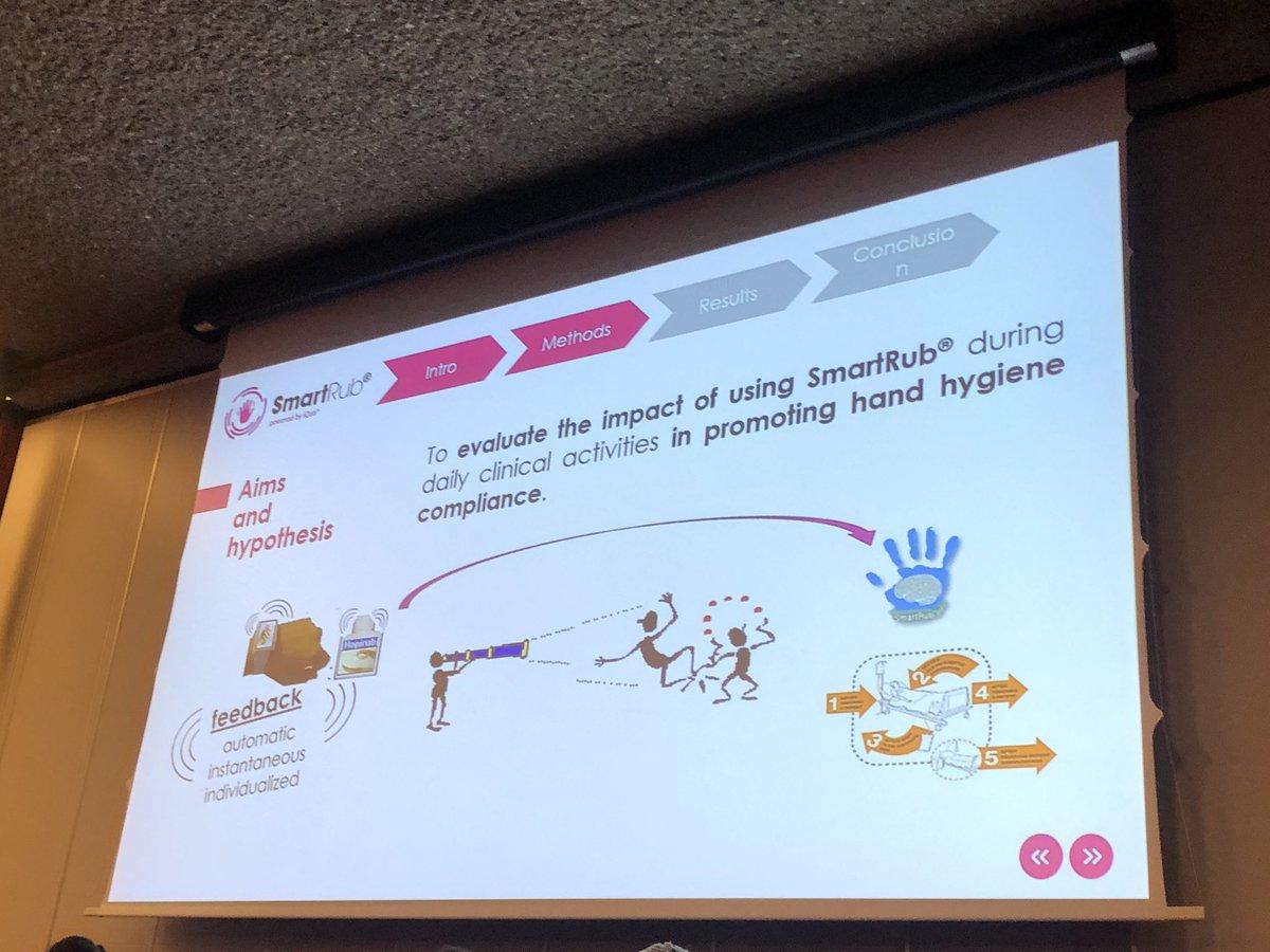 Can technology help to improve #HandHygiene? #ICPIC2019 <br>http://pic.twitter.com/JjIlfPtzJV