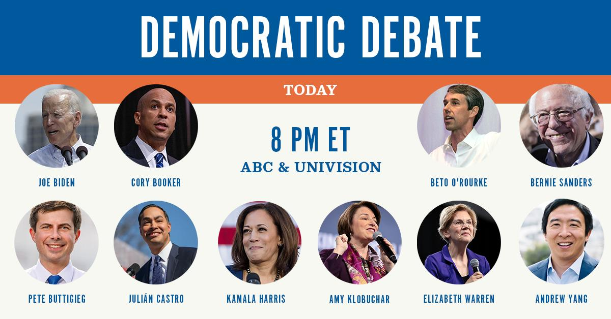 Will you be tuning in to @ABC at 8 p.m. ET tonight to watch the third #DemDebate?