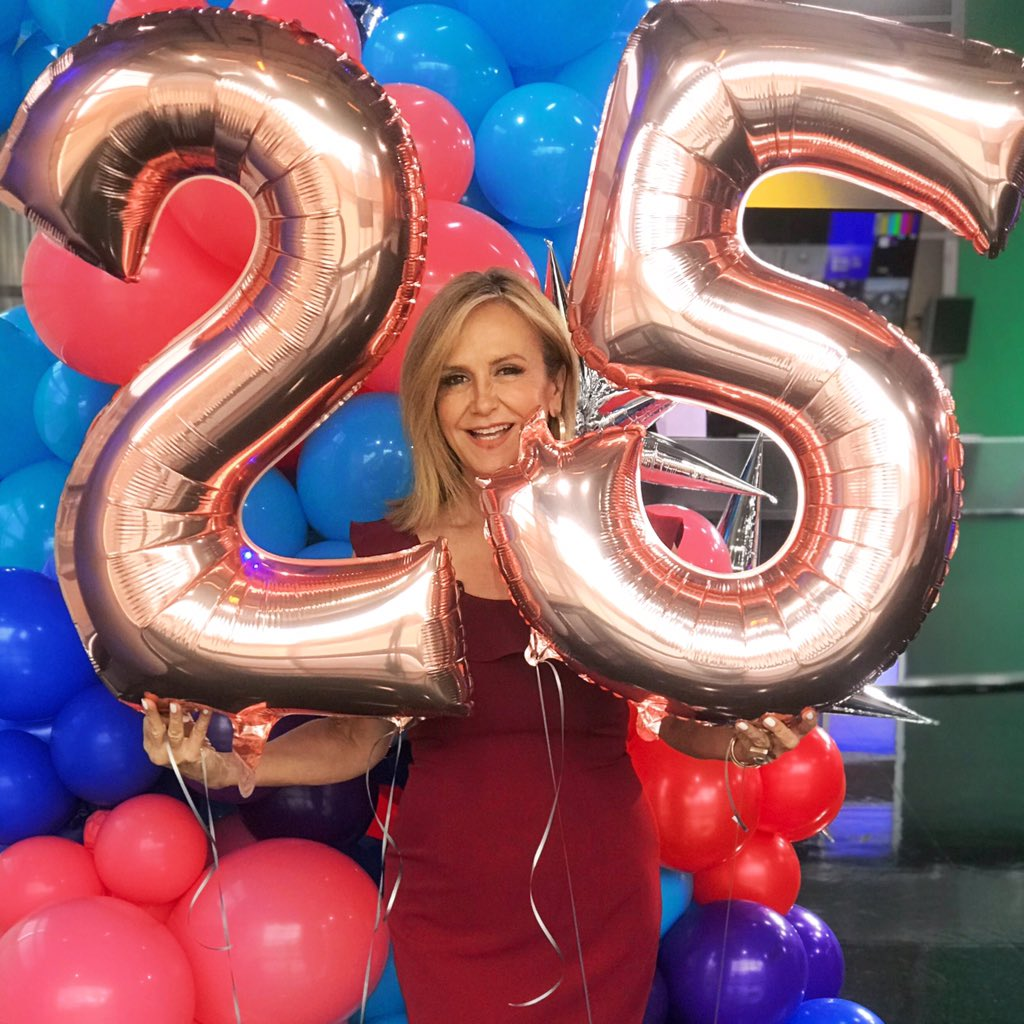 Happy Birthday to us! We celebrated 25 years of @wfaagmt on TV this morning & we want to say a big thank you for watching! #goodmorningtexas #25thbirthday