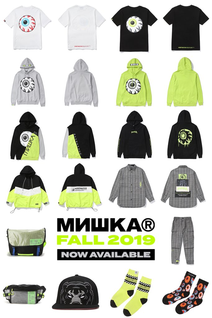 The first drop of our F19' cut & sew collection is now online! mishkanyc.com/collections/mi…
