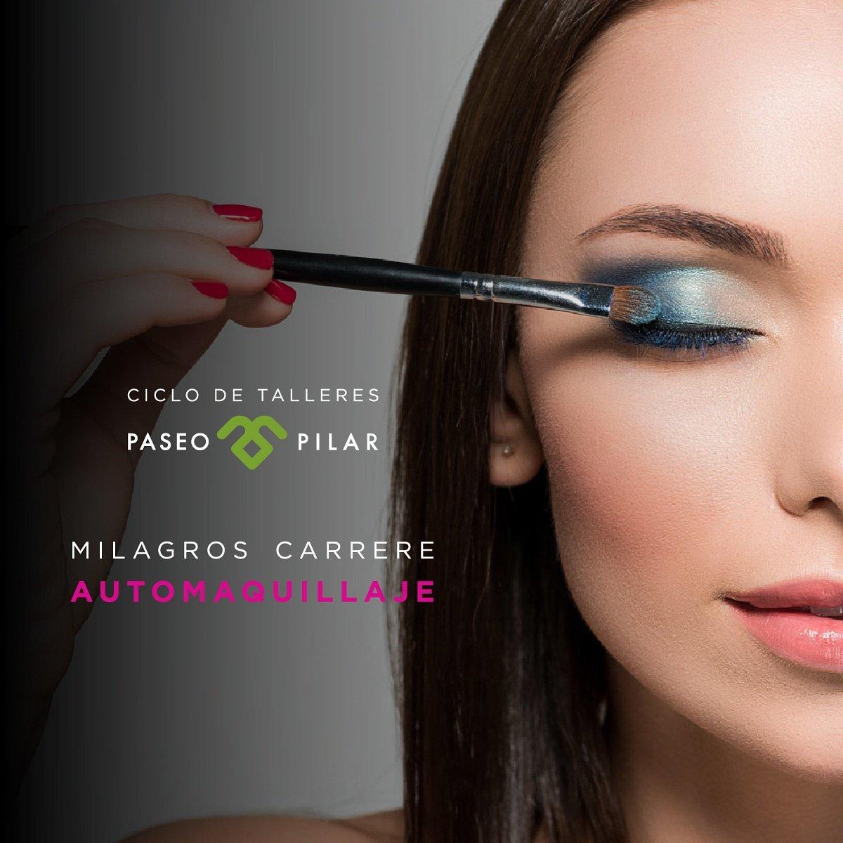 En #Septiembre arrancan los Talleres de Paseo !!! Aprendé a maquillarte como una profesional, con el Curso de automaquillaje de Milagros Carrere.  ¿Cuándo? Miercoles 25 y Jueves 26 de 17.30 a 19.30 hs ¿Dónde? En @paseopilar INSCRIBITE, cupos limitados : +549114048-3182 pic.twitter.com/hiaZSUHY5u