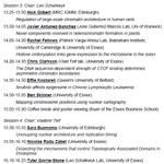 """Image for the Tweet beginning: Workshop """"Chromatin and Epigenetics"""" starts"""