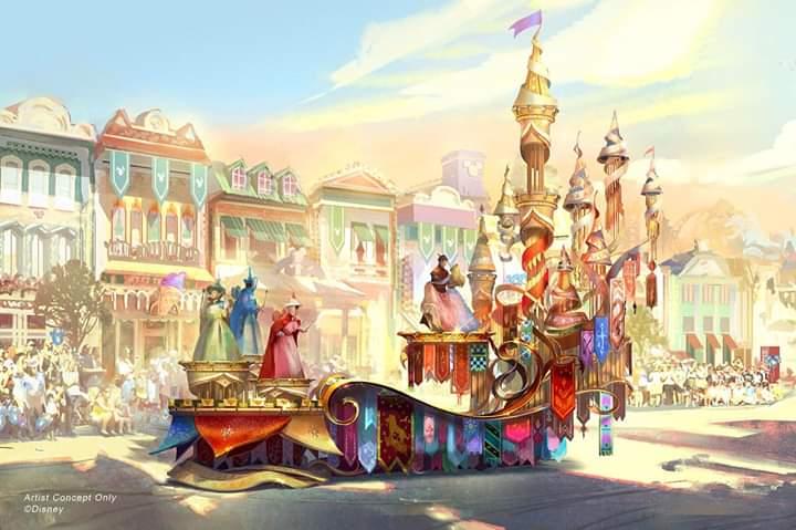 RT @DonWalterDisney: Por fin #DisneyParks diseña un carro alegórico para mí querida #SleepingBeauty 😍 https://t.co/Uw5gtxiArp