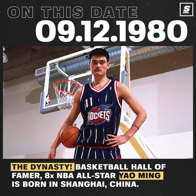Happy birthday to Yao Ming!