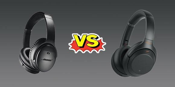 #Versus: Bose Quietcomfort 35 II vs Sony WH-1000XM3: