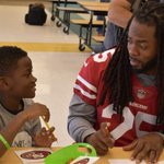 Image for the Tweet beginning: This week, the @49ers, @ymv_unitedway,