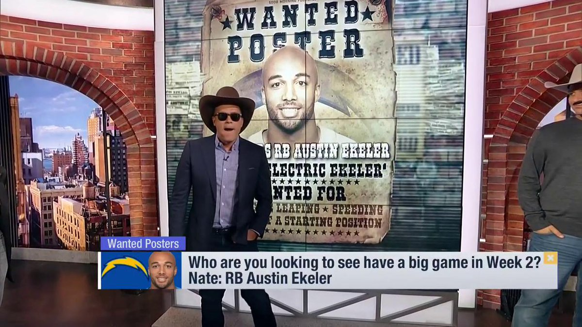 WANTED: An outlaw to take down the MVP. @KyleBrandt crows for @Raiders rookie @Cle_Missile.