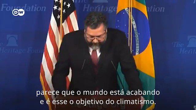 Ernesto Araújo: Não parece haver uma crise climática