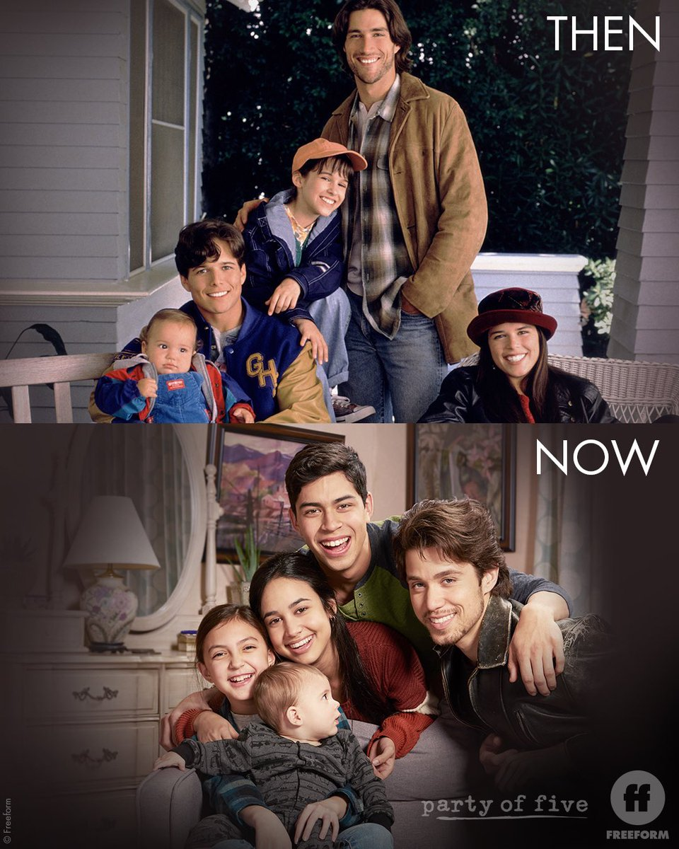25 years later, family is still timeless. #PartyOfFive