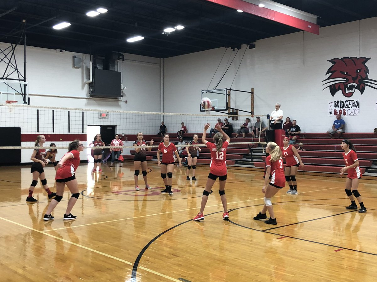 BMS volleyball is looking to complete a DISTRICT SWEEP! BMS vs DMS today. @OHLSD @BridgetownMS #OHbettertogether