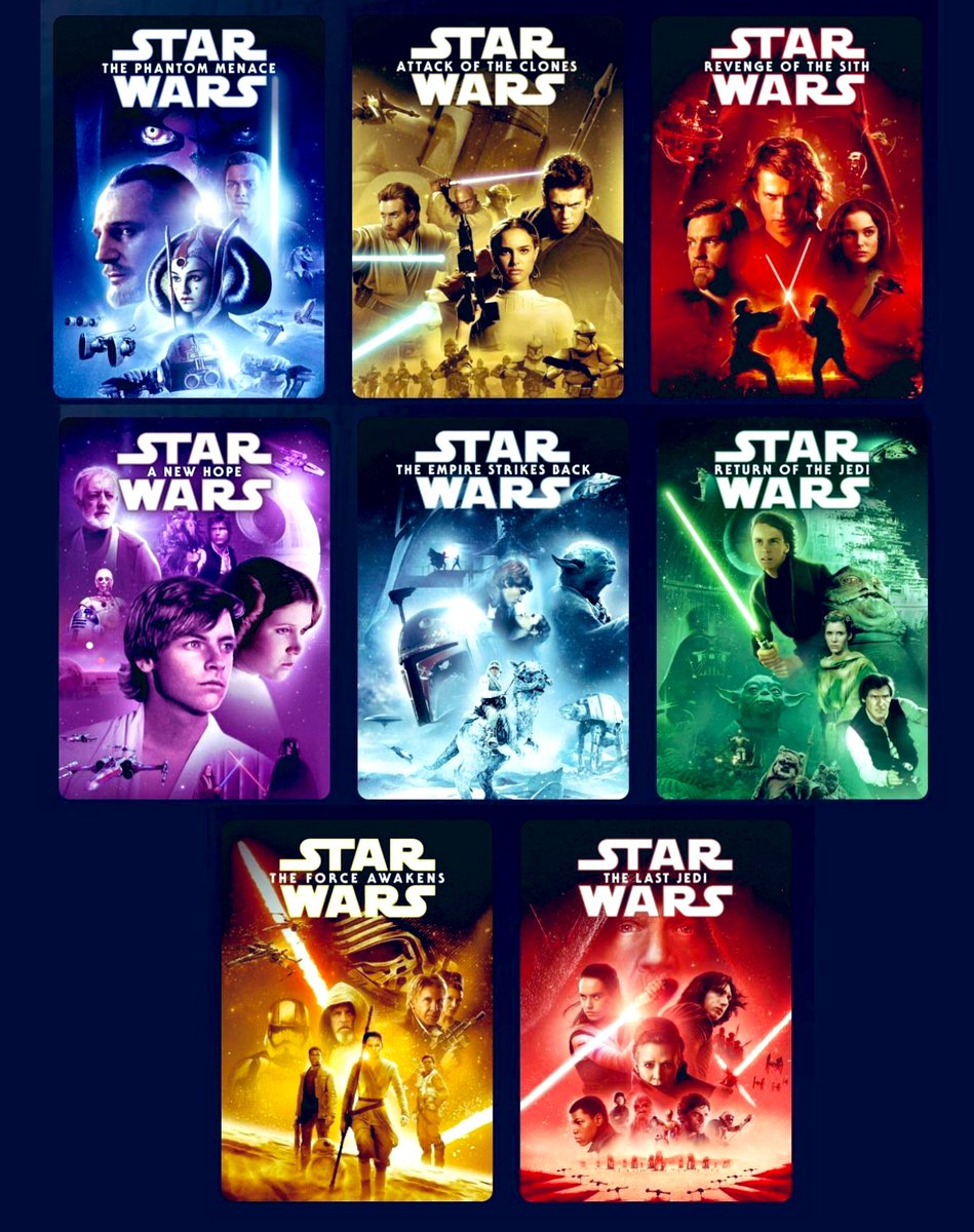 Emperor Palpamemes On Twitter Here S All The New Star Wars Movie Covers For Disneyplus Which One Is Your Favorite