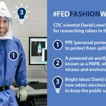 Image for the Tweet beginning: CDC is observing #FedFashionWeek and