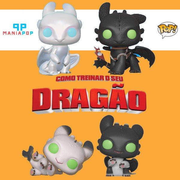 Nova remessa de Funkos dos personagens que pertencem a animação Como Treinar o seu Dragão (Banguela, Fúria da Luz e filhotes). Os fãs podem adquirir em nosso site o seu favorito!!!  Acesse http://www.maniapop.com.br  #filme #animação #desenho #maniapop #funko #funkopop #dragaopic.twitter.com/eyAbeBX7va