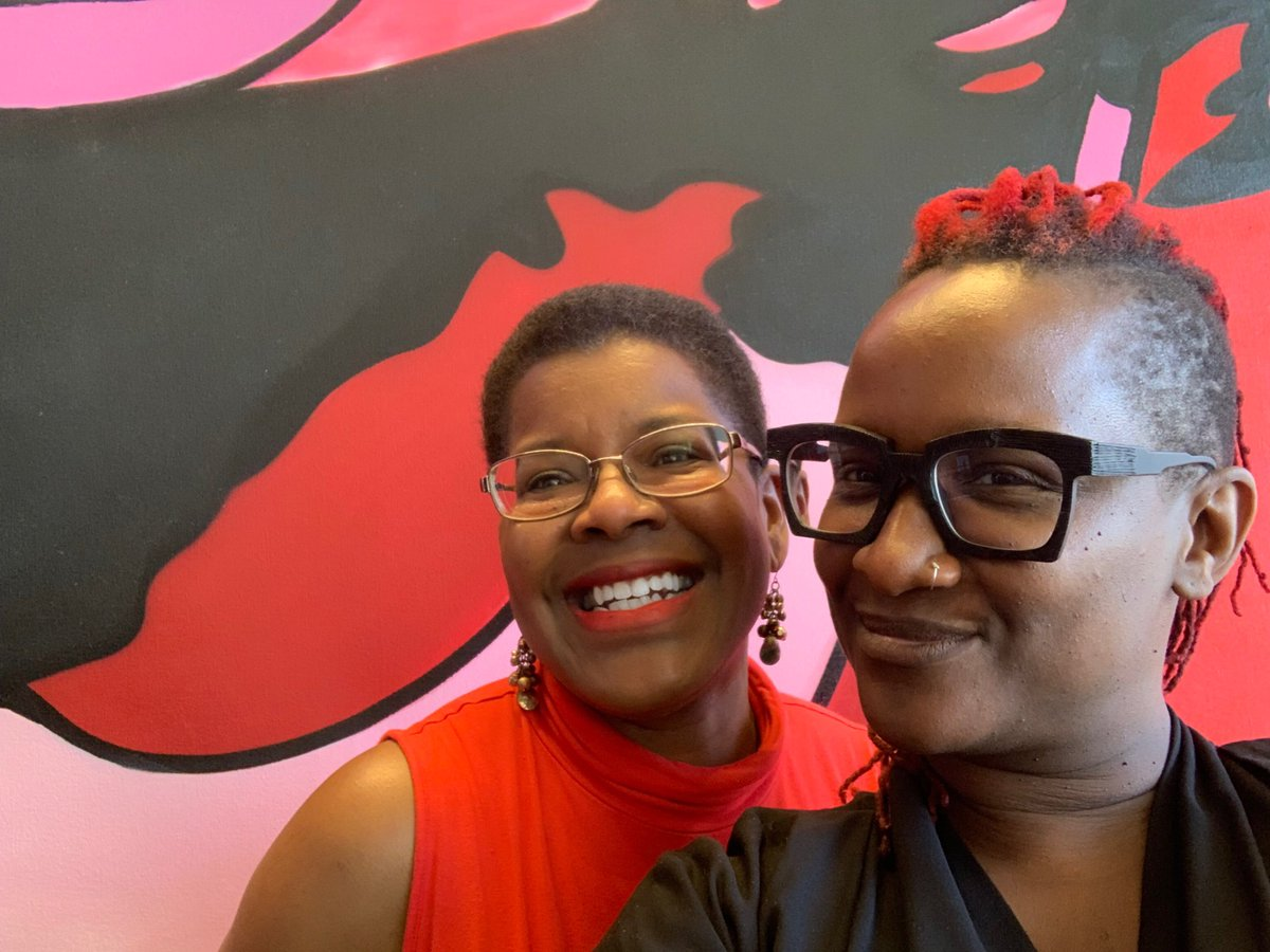 YALL. I love producer Effie Brown (@dulynotedinc) & her passion for my books - and we just finished an AMAZING meeting to take my horror novel THE GOOD HOUSE to TV. Stay tuned for an official announcement, but YES!!! (They said I could tweet!) #blackhorror #thegoodhouse