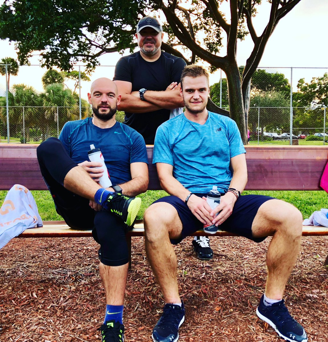 Me and my Boys...Two hardest working men in hockey...after ta-ta-ta workout...   I'm privileged to spend some time training you guys this summer...@marki79red @barkovsasha #hockeylegends #summertraining #hardwork #давайблять <br>http://pic.twitter.com/0eBM9SO5sL