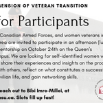 Image for the Tweet beginning: CALL FOR PARTICIPANTS - for