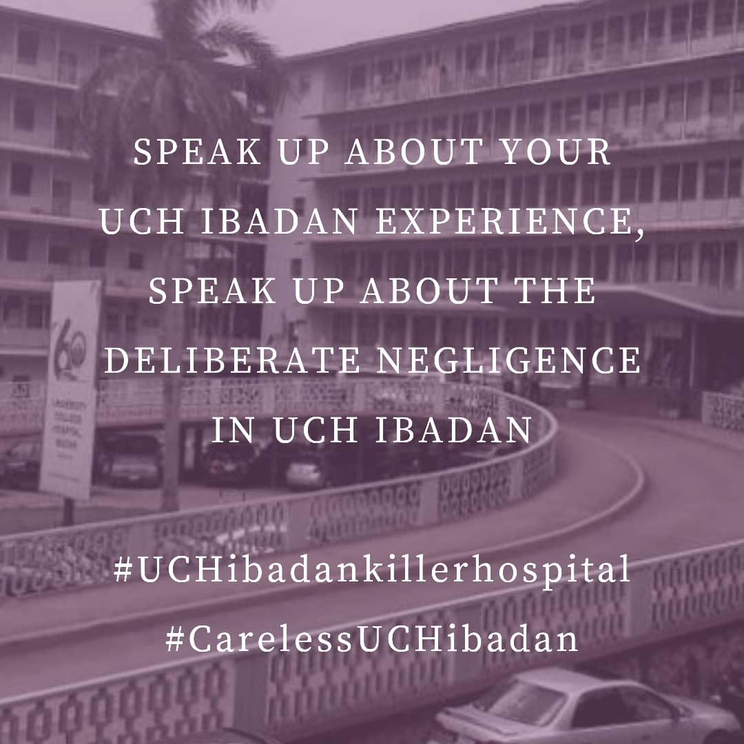 #JusticeForFUOYEHuman lives matter. Our lives matter!We can't keep getting killed in this country for nothing! Just as policemen are killing students, so are our hospitals killing us!   #carelessUCHibadan#UCHdeathCenter  #SaveUCHpatients  #UCHDeathTrap #PEPTSAVENIGERIA