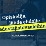 Image for the Tweet beginning: Ammattikorkeakoulujen opiskelijakuntien ja yliopistojen ylioppilaskuntien