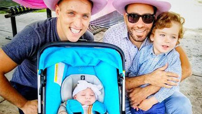 Gay married couple sues U.S. Department of State after their daughter is denied citizenship 4.nbcny.com/ljE1IUi