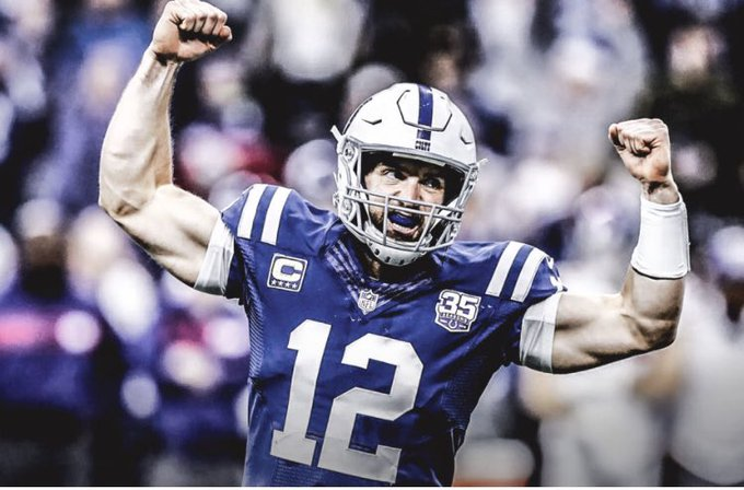 Happy birthday to my favorite QB of all time, Andrew Luck! I m going to forever miss seeing you ball on Sundays!