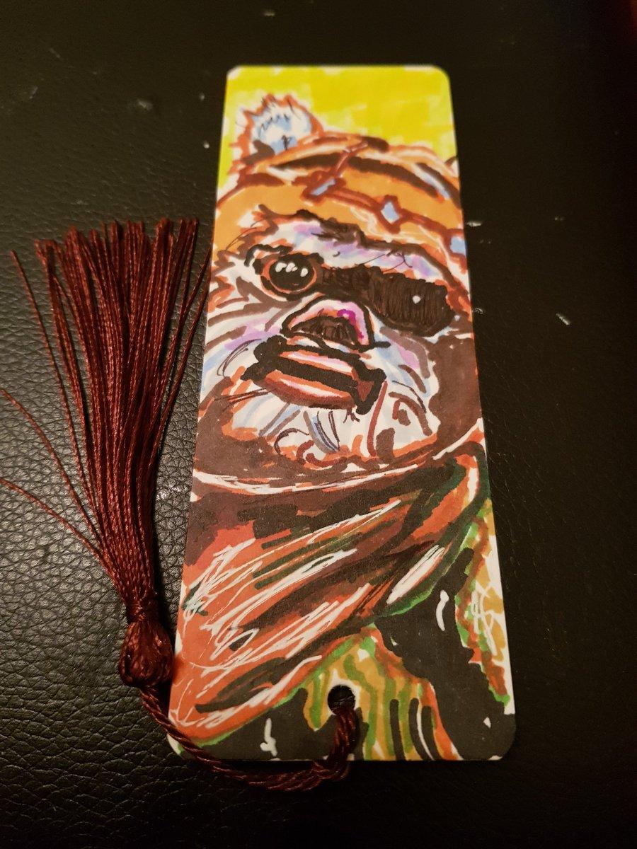 Ewok bookmark ❤❤