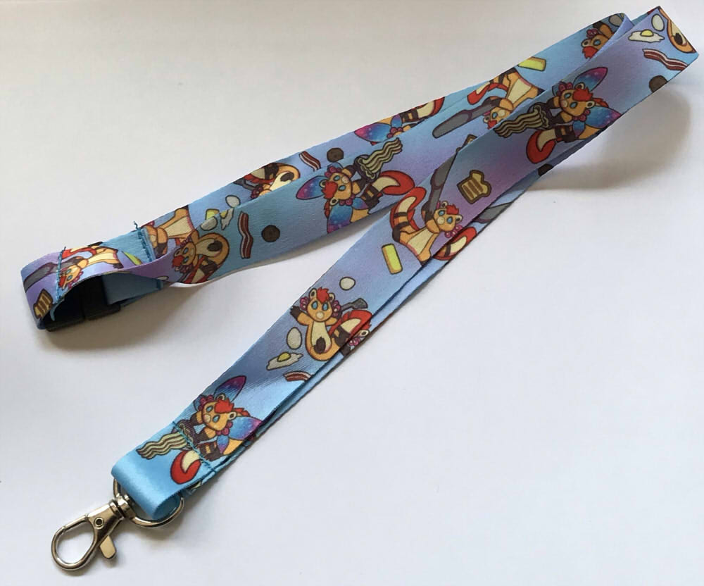 Got the Foodie Pass Lanyard we're doing for @Furrealitycon ! This comes for free if you purchase a foodie pass, which also guarantees some meals at the show!  I believe the passes are almost all gone so check them out!  http://www. furreality.org/schedule/foodi e-pass/  …  #furryart #furrycon #furryfandom<br>http://pic.twitter.com/SYRPRc4MEq