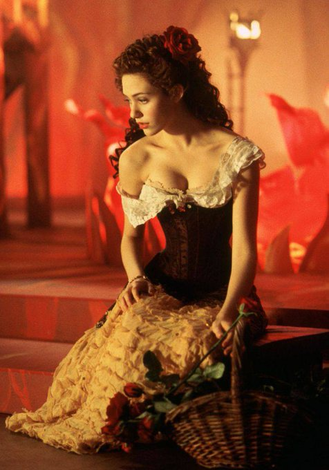 Happy Birthday to Emmy Rossum who turns 33 today! Pictured here in The Phantom of The Opera (2004).