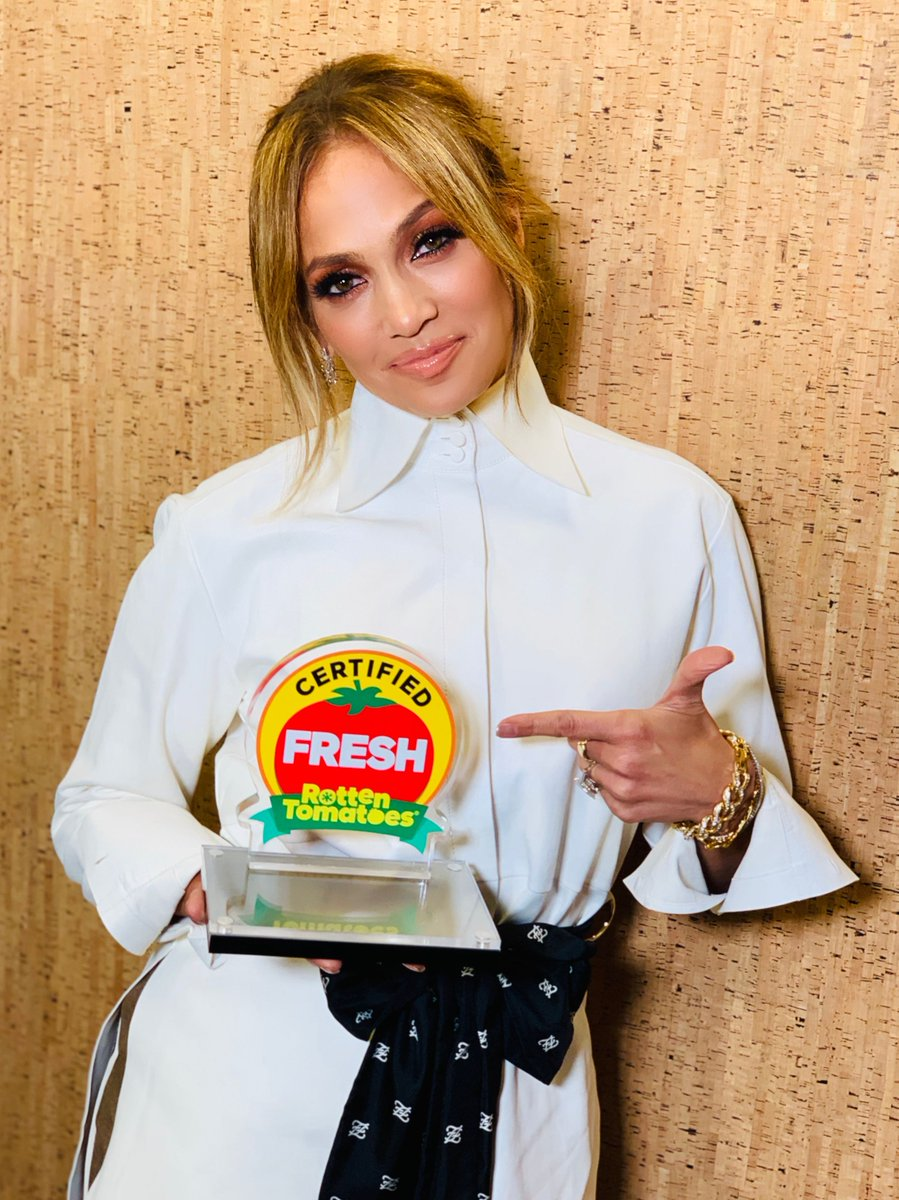 Congrats to @JLo and the cast of #HustlersMovie - it's now #CertifiedFresh at 89% on the #Tomatometer!