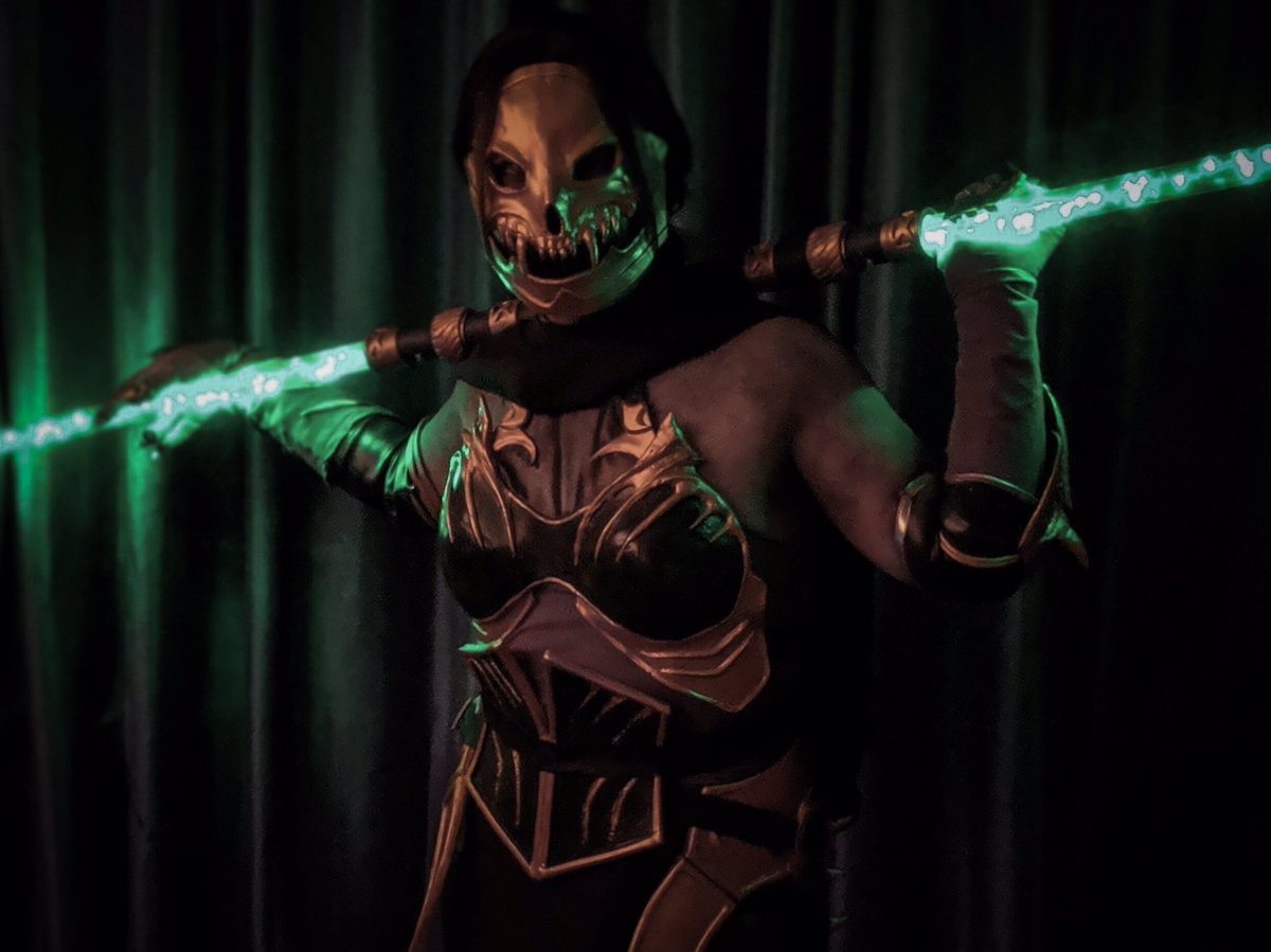 Angelica On Twitter New Mask For My Revenant Jade Cosplay