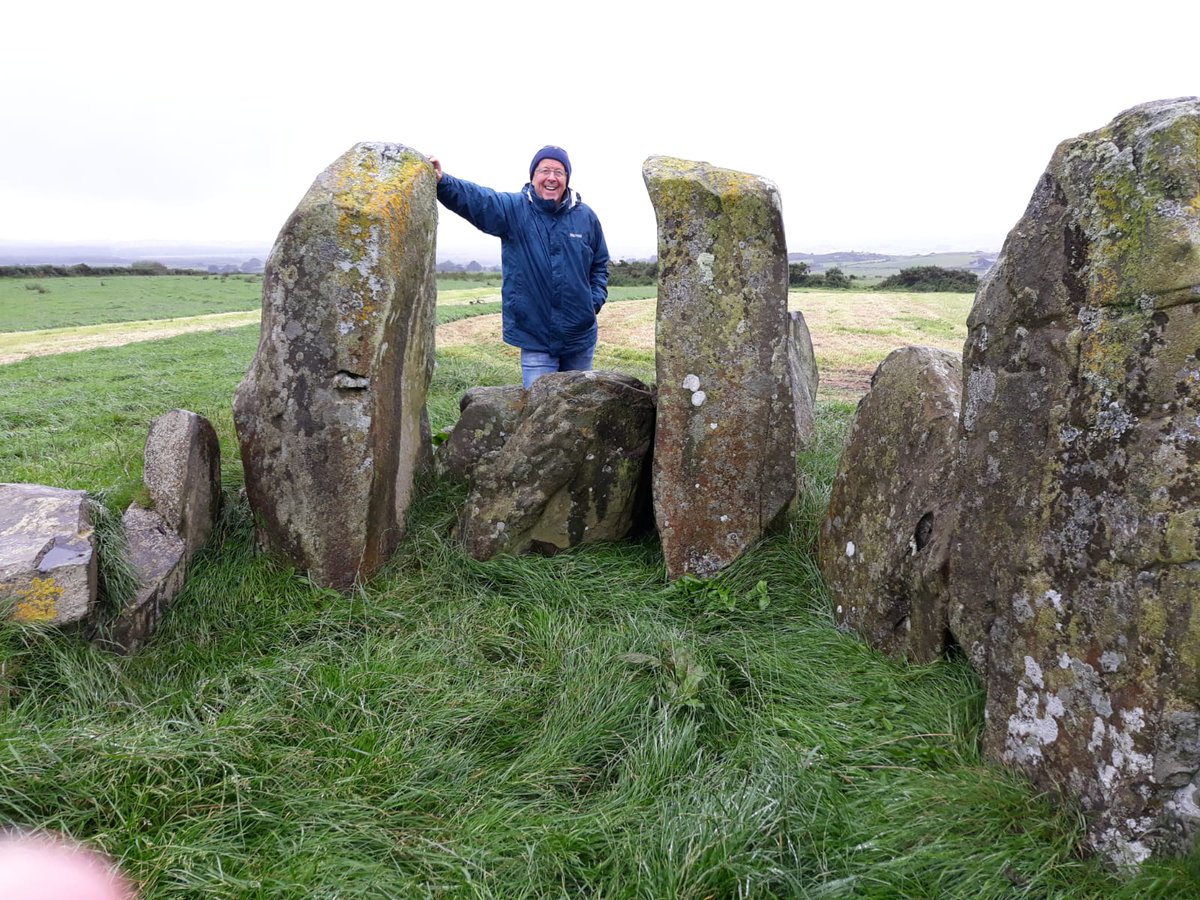 """Touring #Ireland, astonishing to find remains like the """"temple of deen"""" 5000 years old!!! Reminds me of the ancient #Indus #Harappa culture in #BeautifulPakistan<br>http://pic.twitter.com/VpD12jzzNX"""